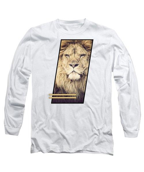Male Lion Long Sleeve T-Shirt