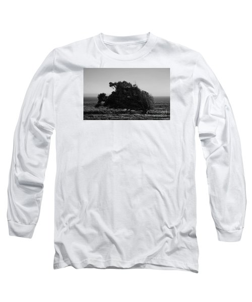 Long Sleeve T-Shirt featuring the photograph Malformed Treeline by Clayton Bruster