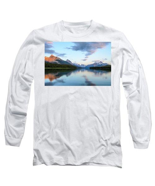 Maligne Lake Long Sleeve T-Shirt