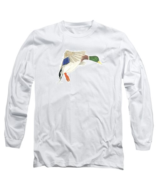 Mallard Drake Long Sleeve T-Shirt