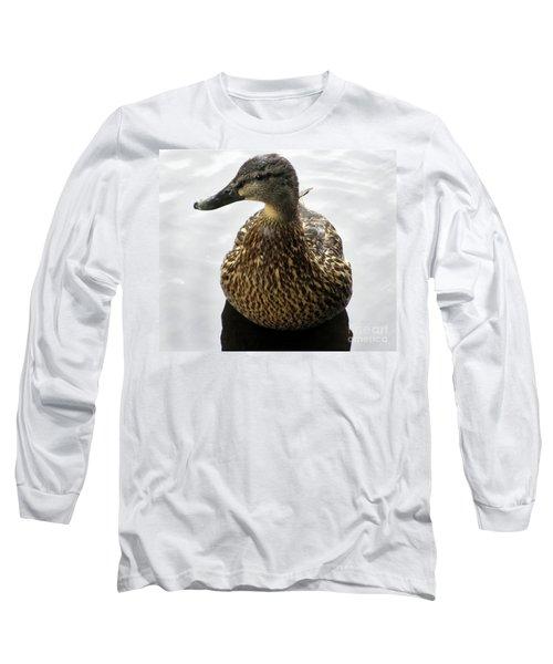 Mallard Profile Long Sleeve T-Shirt