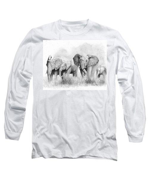 Mama Says Long Sleeve T-Shirt