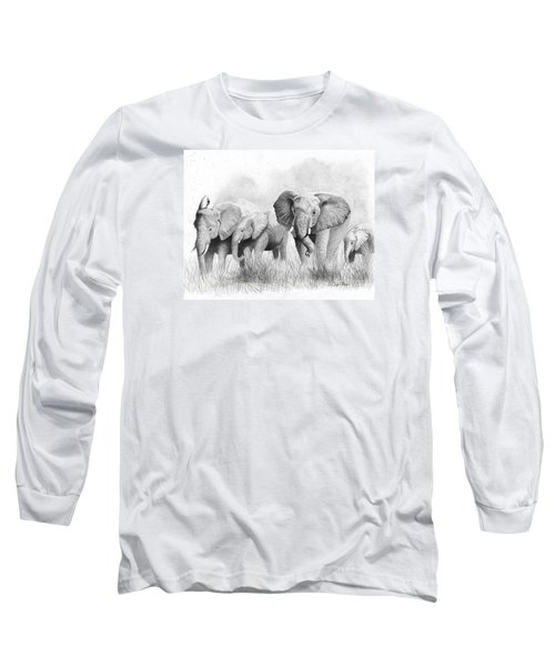 Mama Says Long Sleeve T-Shirt