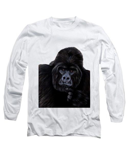 Mammals Gorilla Long Sleeve T-Shirt