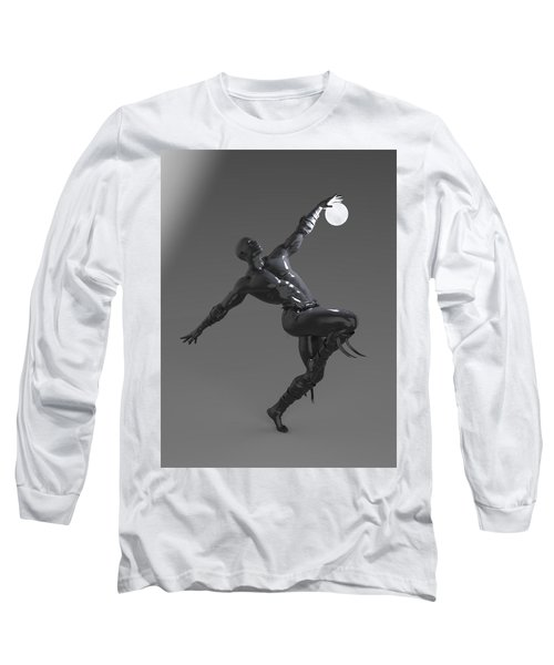 Man Lamp Number Four Long Sleeve T-Shirt