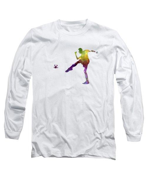 Man Soccer Football Player 15 Long Sleeve T-Shirt
