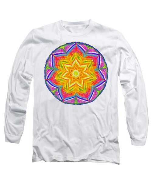 Mandala 12 20 2015 Long Sleeve T-Shirt by Hidden Mountain