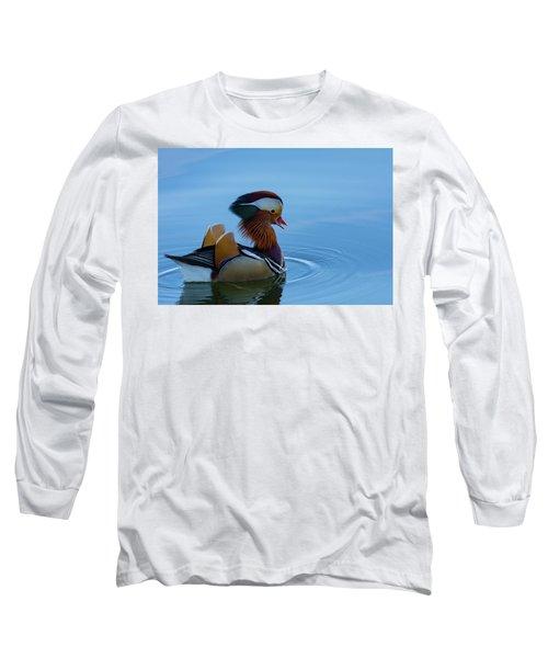Majestic Mandarin Duck Long Sleeve T-Shirt