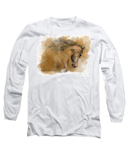 Mangalarga Marchador Long Sleeve T-Shirt by Kathy Russell