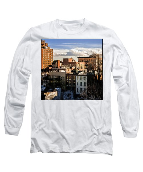 Manhattan From The Whitney Long Sleeve T-Shirt