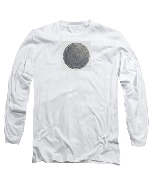 Manhole Cover Long Sleeve T-Shirt by Stan  Magnan