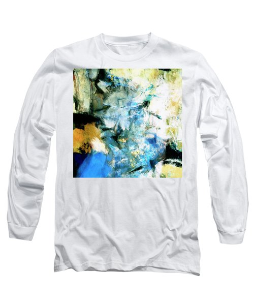 Long Sleeve T-Shirt featuring the painting Manifestation by Dominic Piperata