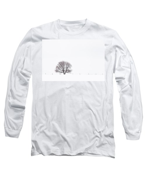 Long Sleeve T-Shirt featuring the photograph Manitoba Winter by Yvette Van Teeffelen