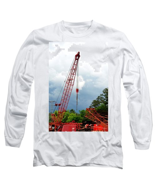 Manitowoc Crane 2015 Long Sleeve T-Shirt by Maria Urso