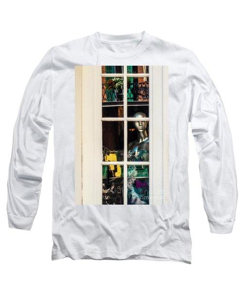 Mannequin Reflecting Long Sleeve T-Shirt