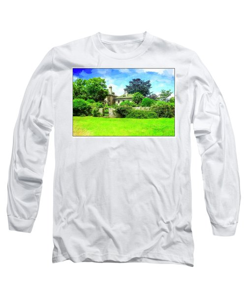 Mansion And Gardens At Harkness Park. Long Sleeve T-Shirt
