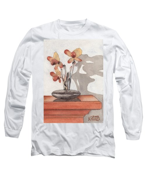 Mantel Flowers Long Sleeve T-Shirt