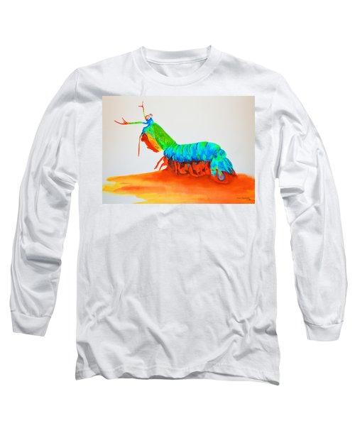 Mantis Shrimp Long Sleeve T-Shirt