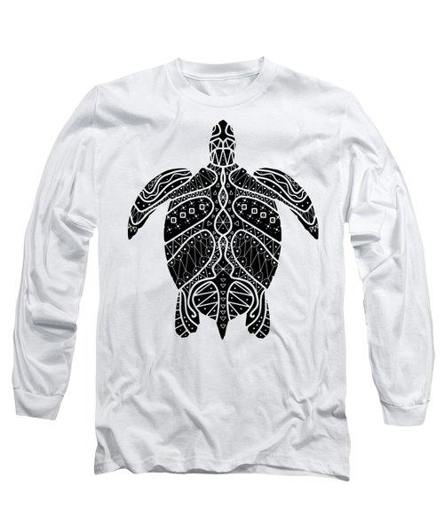 Maori Turtle Long Sleeve T-Shirt