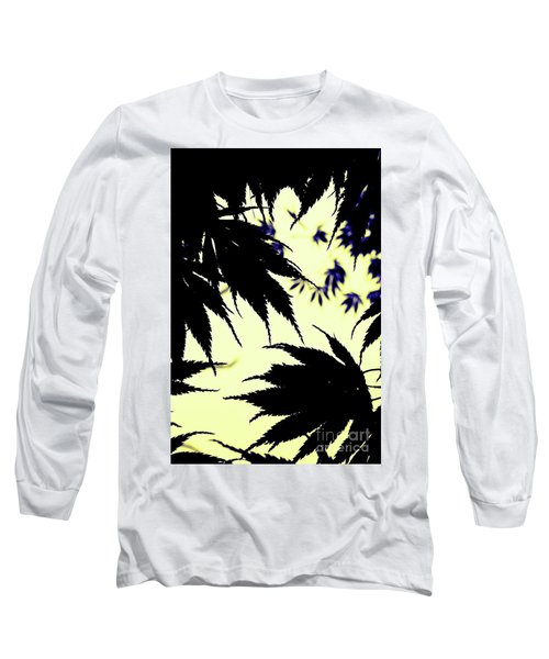 Maple Silhouette Long Sleeve T-Shirt