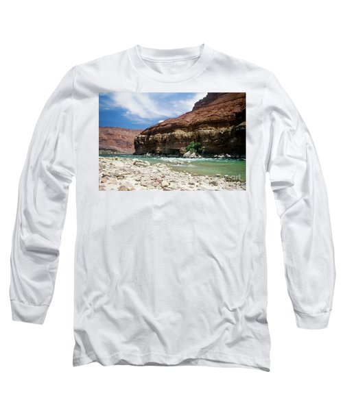 Marble Canyon Long Sleeve T-Shirt by Kathy McClure