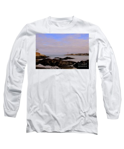 Marblehead Harbor And Light Long Sleeve T-Shirt
