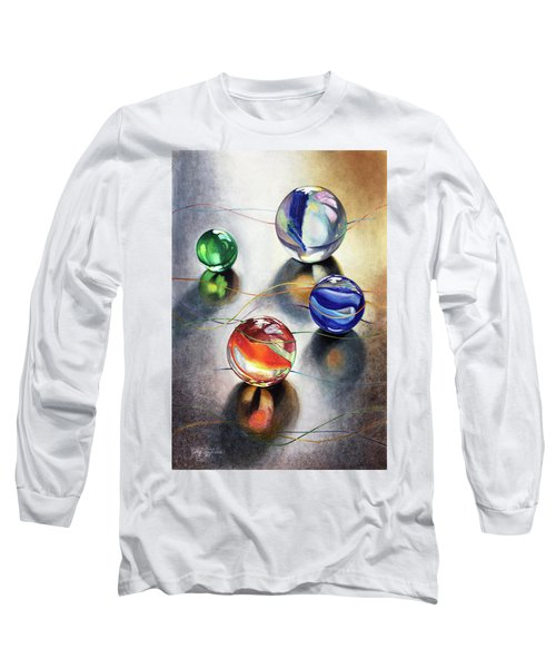 Marbles 3 Long Sleeve T-Shirt