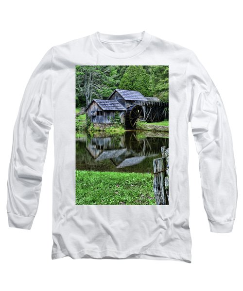 Marby Mill Reflection Long Sleeve T-Shirt by Paul Ward