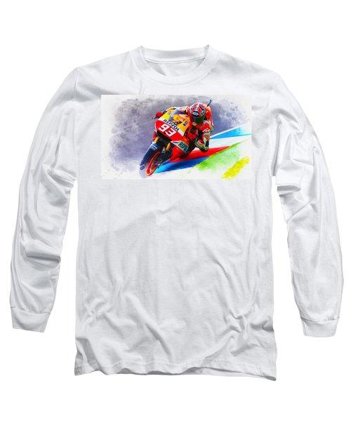 Marc Marquez Get Up Close Long Sleeve T-Shirt