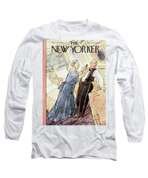 March 24 1956 Long Sleeve T-Shirt