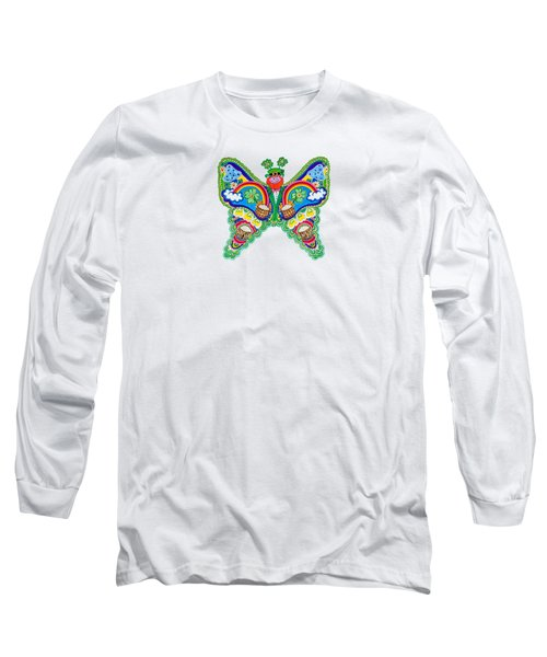 March Butterfly Long Sleeve T-Shirt