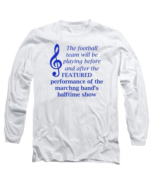 Marching Performance Long Sleeve T-Shirt