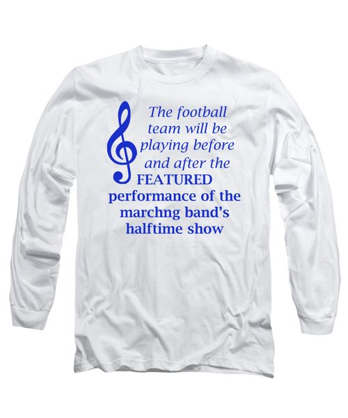 Marching Performance Long Sleeve T-Shirt
