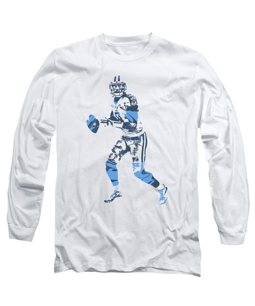 Marcus Mariota Tennessee Titans Pixel Art T Shirt 1 Long Sleeve T-Shirt