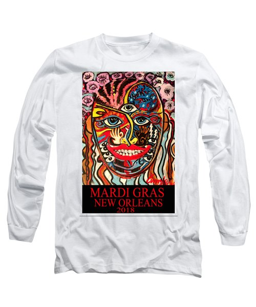 Mardi Gras 2018 Long Sleeve T-Shirt
