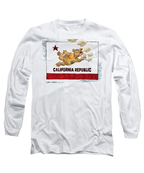 Marijuana Referendum In California Long Sleeve T-Shirt