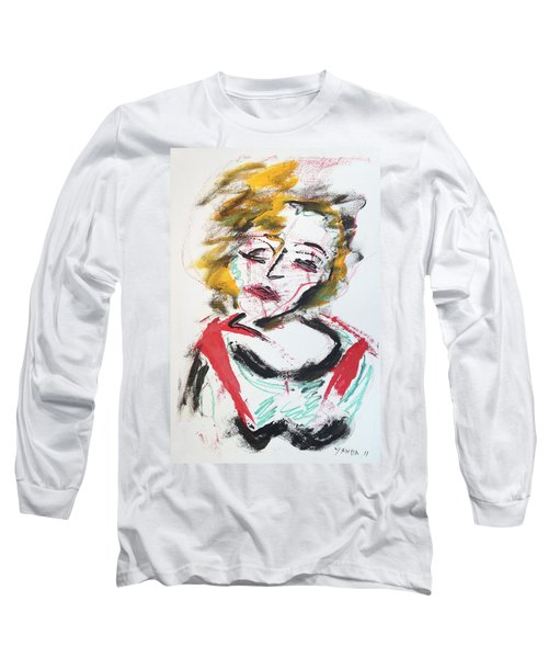 Marilyn Abstract Long Sleeve T-Shirt