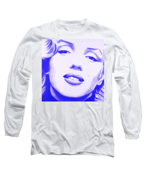 Marilyn Monroe - Blue Tint Long Sleeve T-Shirt