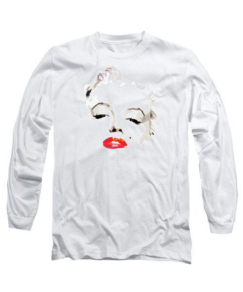 Marilyn Monroe Minimalist Long Sleeve T-Shirt
