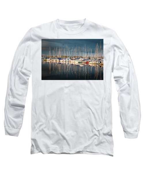Marina Sunset 4 Long Sleeve T-Shirt