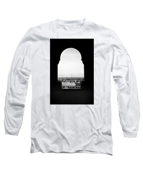 Marina Through The Window Long Sleeve T-Shirt