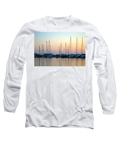 Marine Reflections Long Sleeve T-Shirt