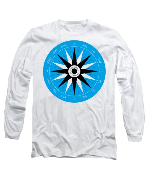 Mariner's Compass Long Sleeve T-Shirt