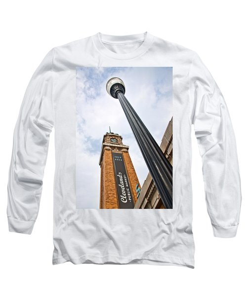 Market Clock Tower Long Sleeve T-Shirt