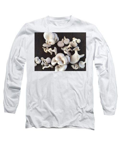 Market Mushrooms Long Sleeve T-Shirt
