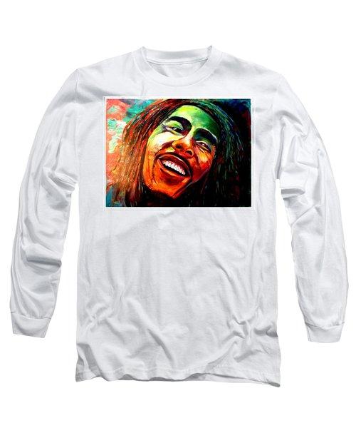 Marley Long Sleeve T-Shirt by Ken Pridgeon