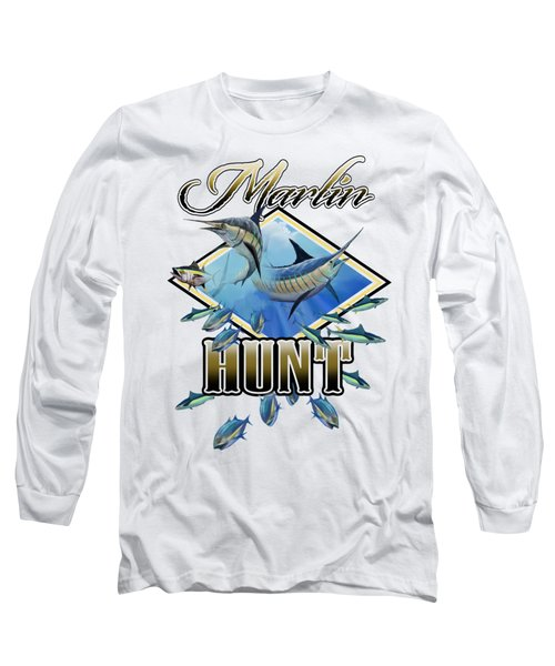 Marlin Hunt 2 Long Sleeve T-Shirt