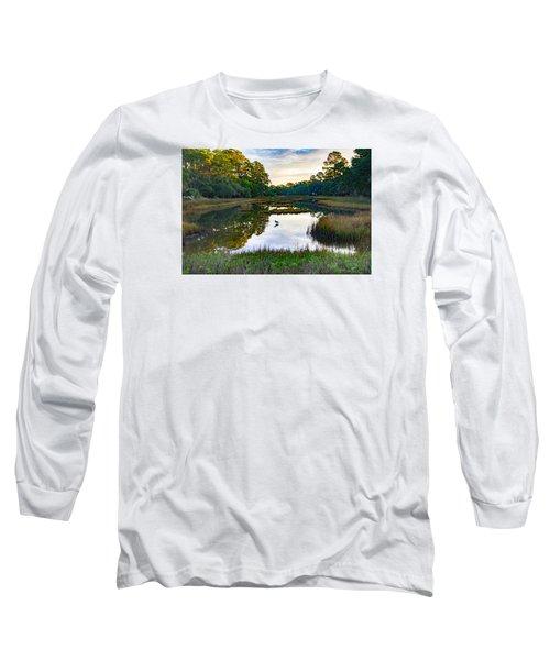 Marsh In The Morning Long Sleeve T-Shirt