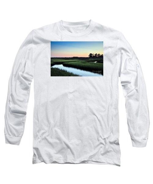Marsh Sunset Long Sleeve T-Shirt