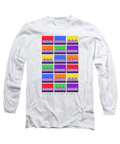 Mary Montage Long Sleeve T-Shirt